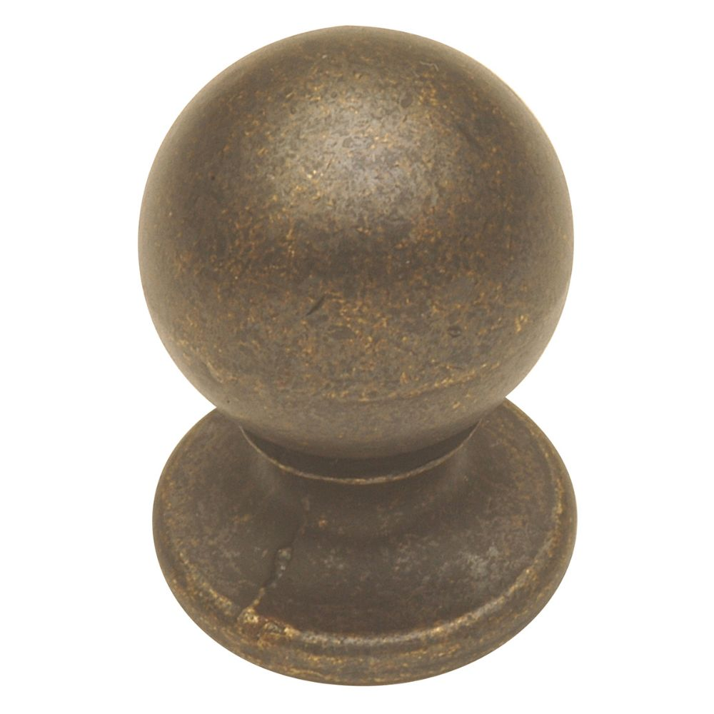 Hickory Hardware PA1211-WOA OxFord Antique Collection Knob 3/4 Inch Diameter Windover Antique Finish