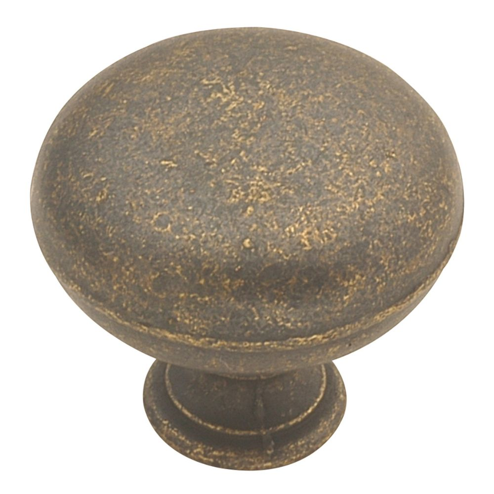 Hickory Hardware PA1218-WOA Manchester Collection Knob 1-1/4 Inch Diameter Windover Antique Finish