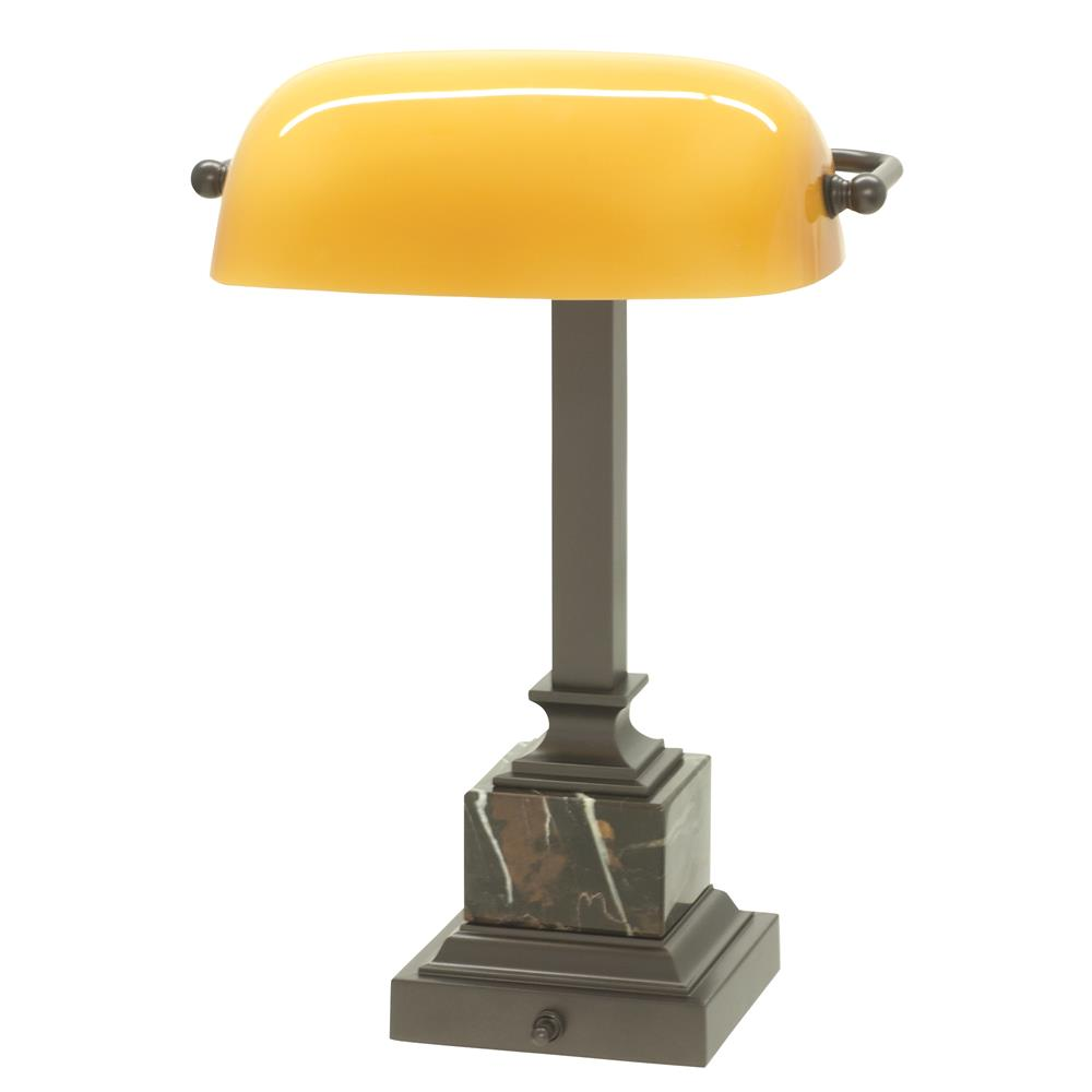 House of Troy DSK430-MB Shelburne Bankers Desk Lamp