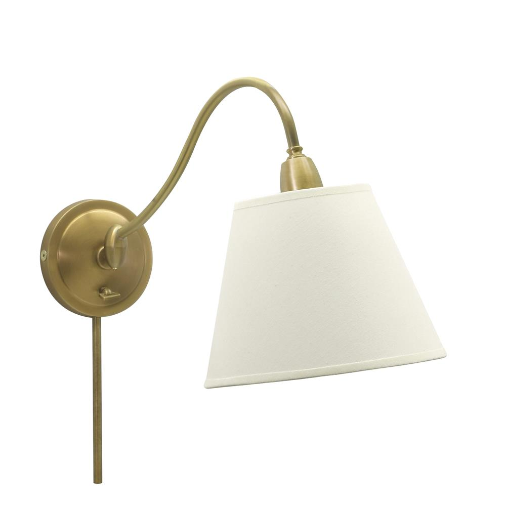 House of Troy HP725-WB-WL Hyde Park Adjustable Wall Swing Arm Lamp