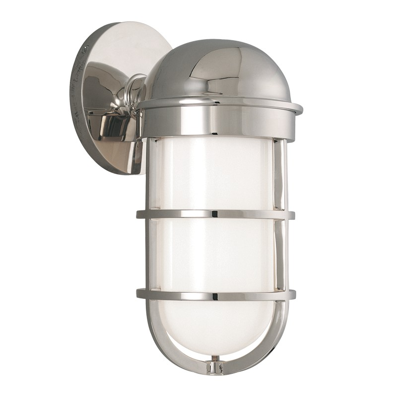 Hudson Valley Lighting 3001-PN Groton 1 Light Bath Bracket in Polished Nickel