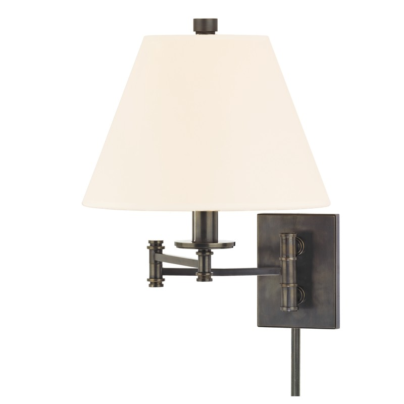Hudson Valley Lighting 7721-OB-WS Claremont 1 Light Wall Sconce in Old Bronze