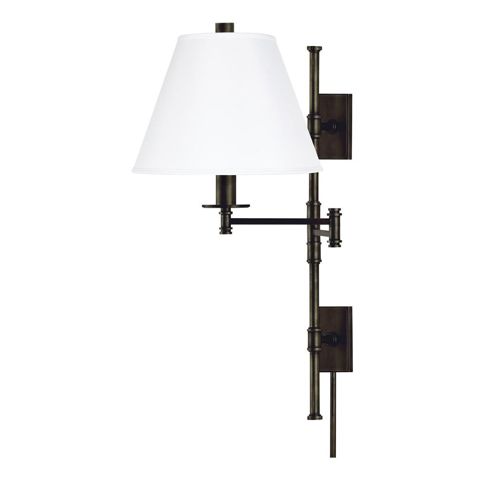 Hudson Valley Lighting 7731-OB-WS Claremont 1 Light Wall Sconce in Old Bronze