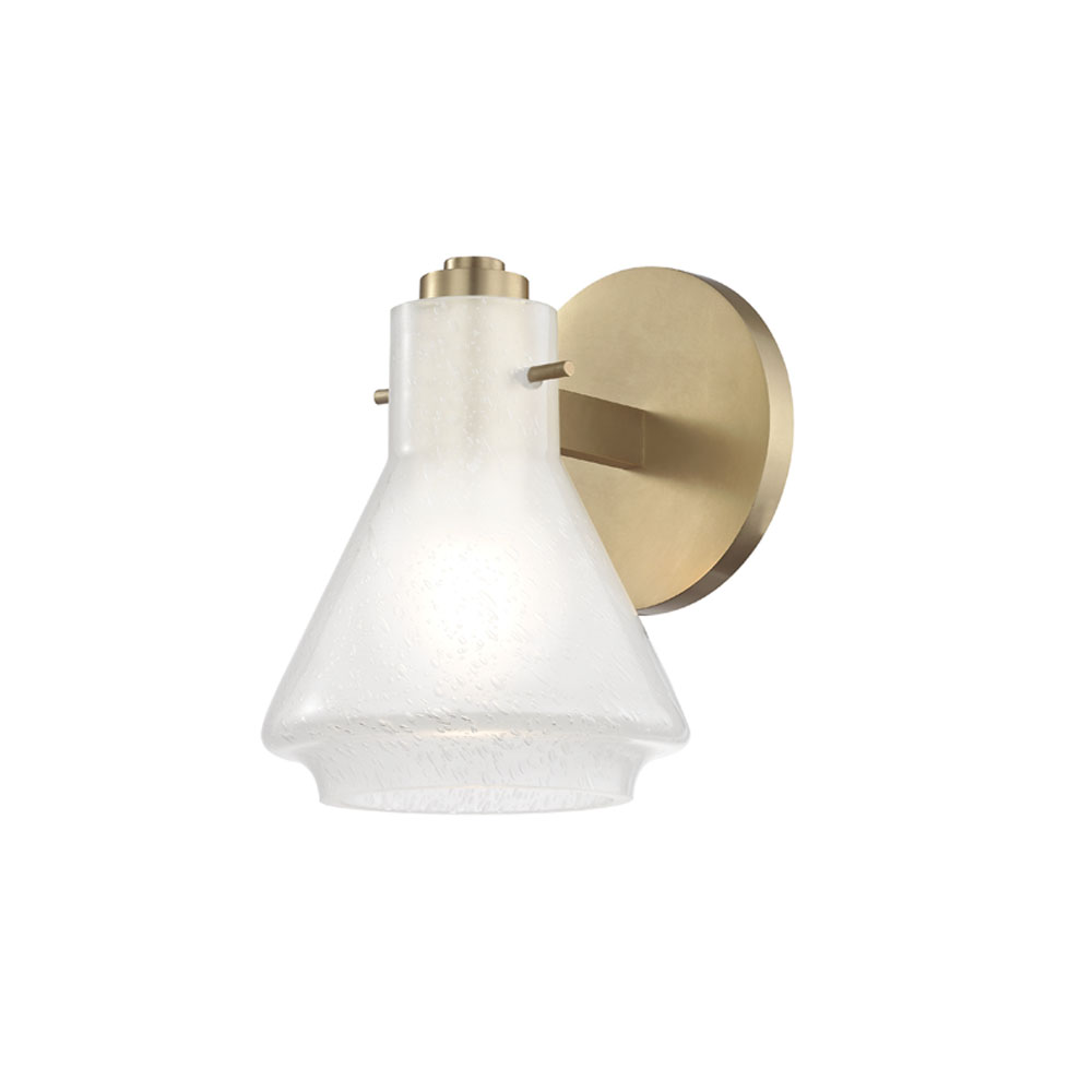 Mitzi by Hudson Valley Lighting H129301-AGB ROSIE 1 Light Bath Bracket
