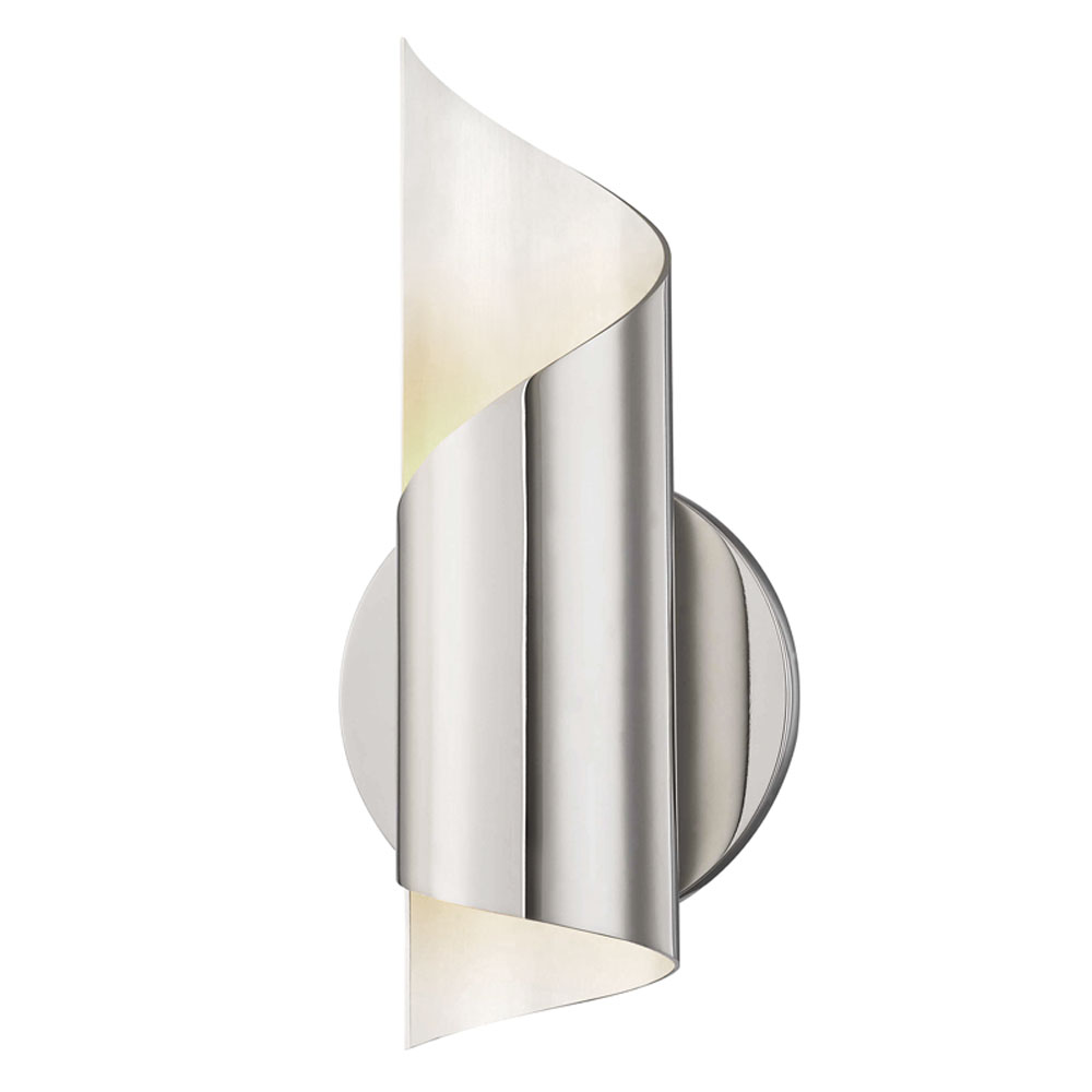 Mitzi by Hudson Valley Lighting H161101-PN EVIE 1 Light Wall Sconce