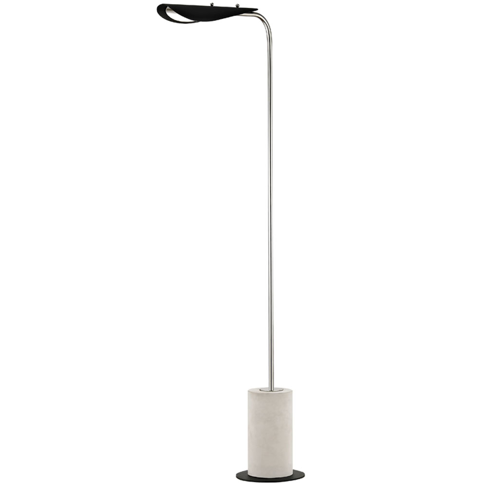 Mitzi by Hudson Valley Lighting HL157401-PN/BK LAYLA 1 Light Floor Lamp