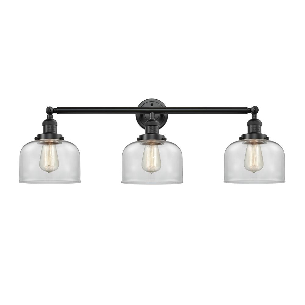 Innovations 205-OB-S-G72 3 Light Large Bell 32 inch Bathroom Fixture
