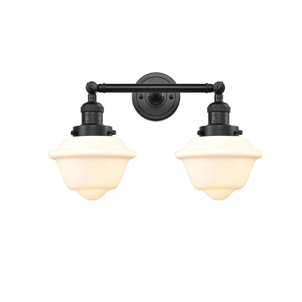 Innovations 208-BK-G531 2 Light Small Oxford 17 inch Bathroom Fixture