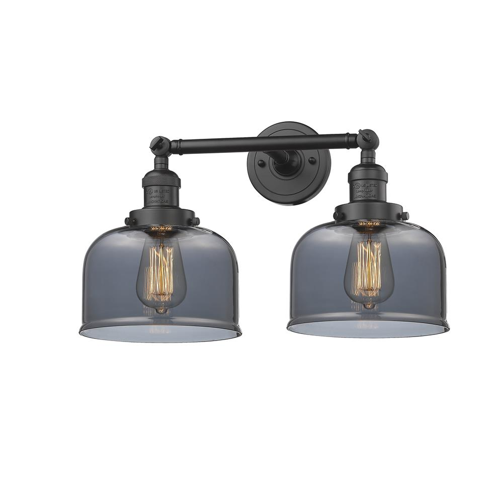 Innovations 208-OB-G73 2 Light Large Bell 19 inch Bathroom Fixture