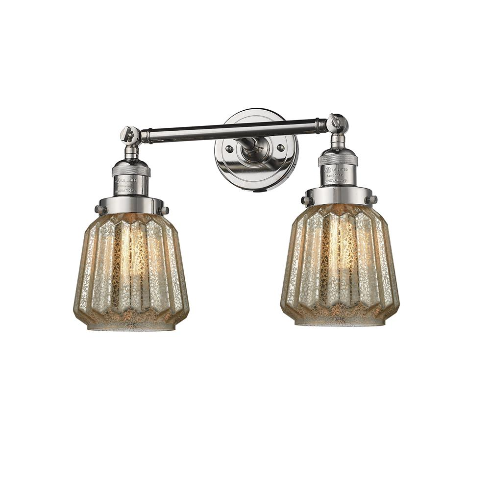 Innovations 208-PN-G146 2 Light Chatham 16 inch Bathroom Fixture