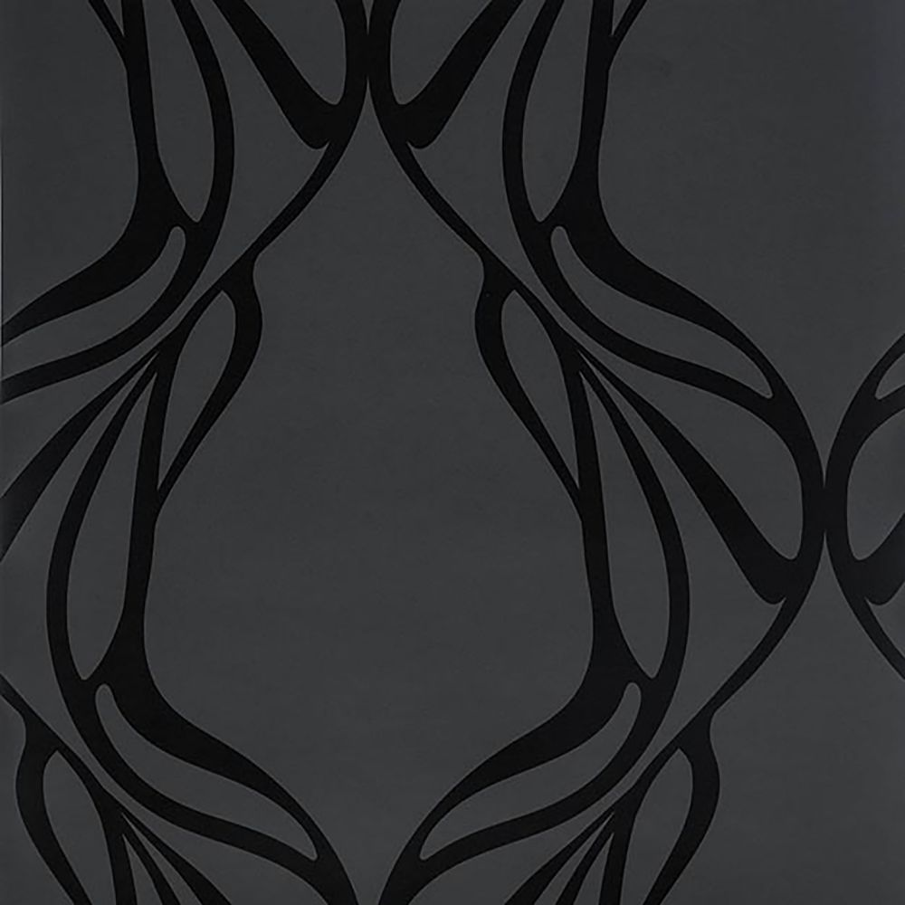 JF Fabrics 3060-99 W7501 Calligraphy Wallcoverings Paper Scroll Straight Match Wallpaper
