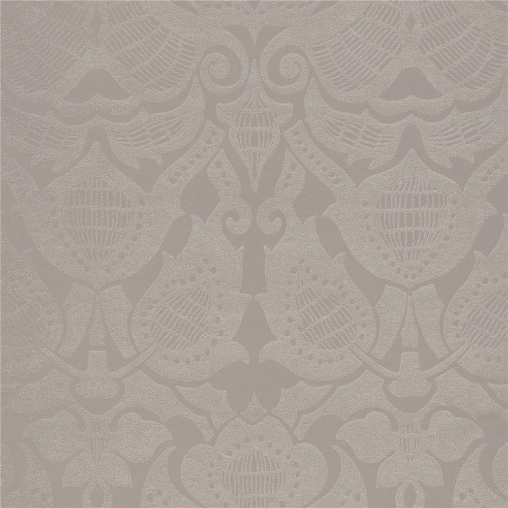 JF Fabrics 52076 43W8621 Karma Wallpaper in Mauve