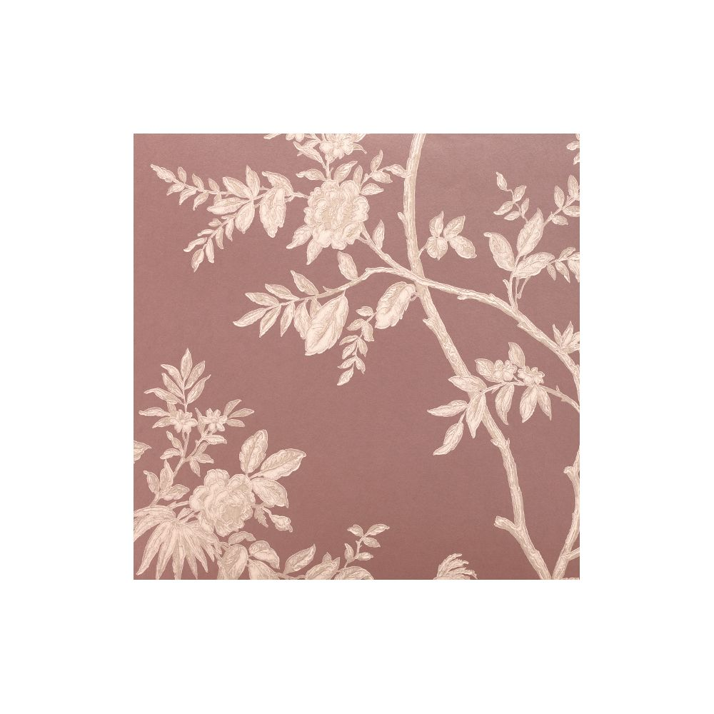 JF Fabrics 8002-43 Wallcovering Bird On Branch Straight Match Wallpaper