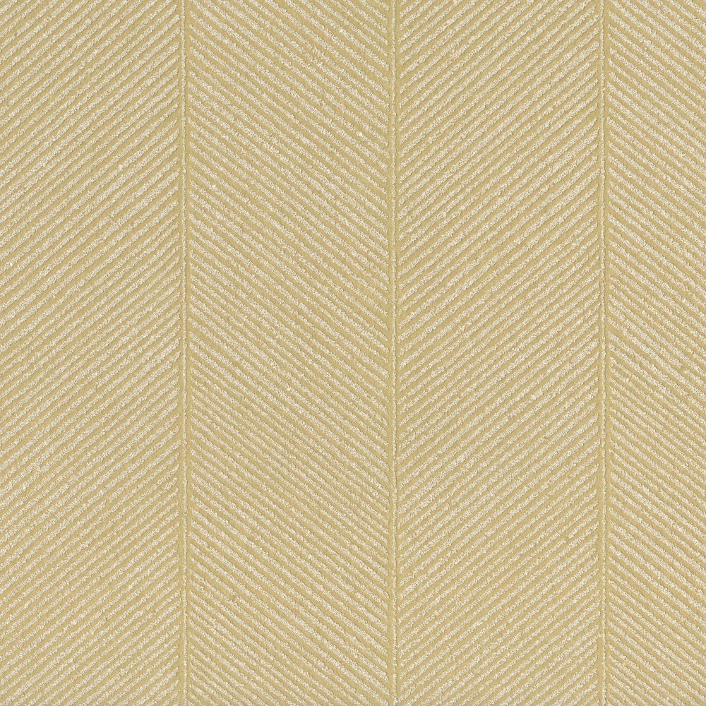 JF Fabrics 9091 16WS121 INDOCHINE Yellow; Gold Wallpaper