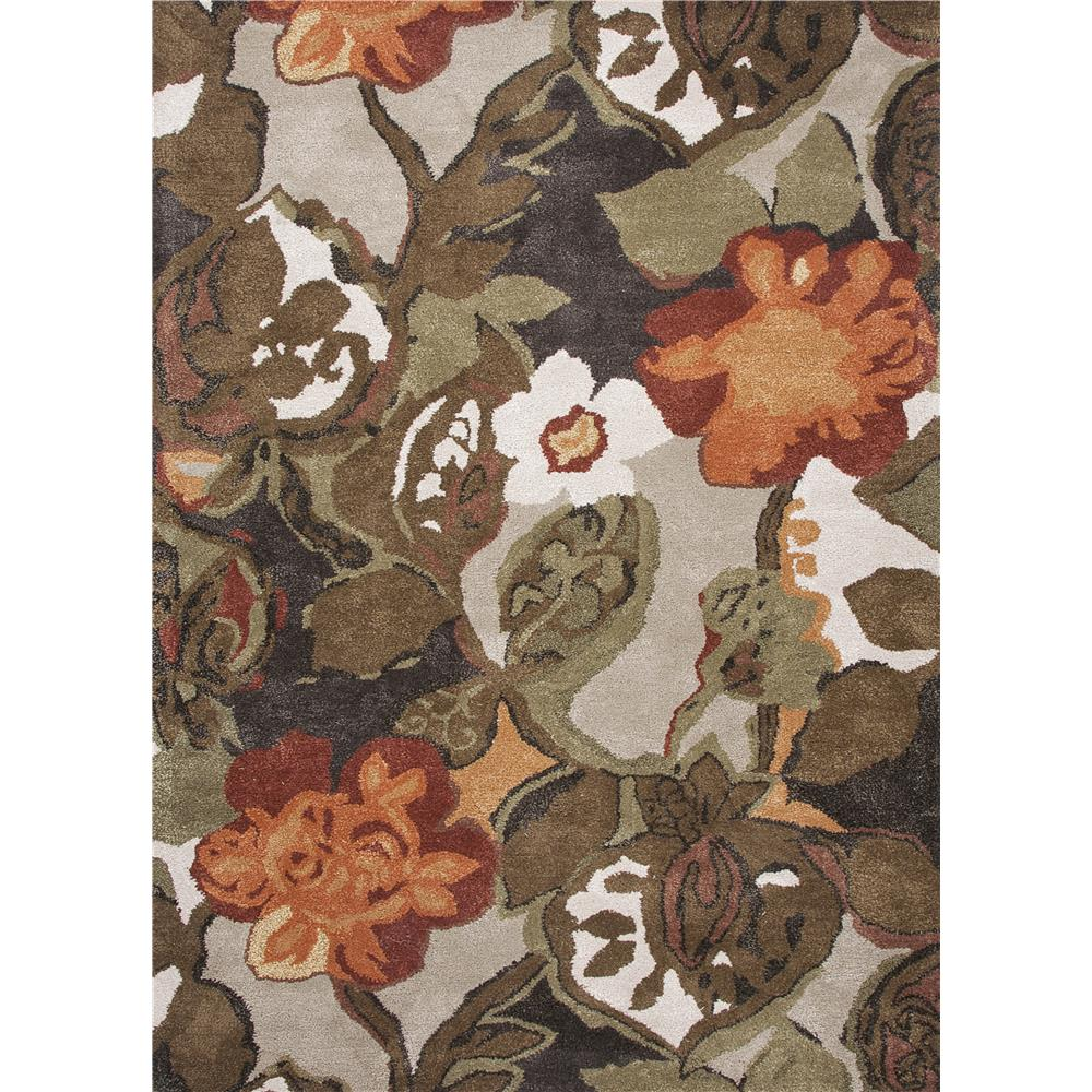Jaipur Living BL12 Petal Pusher Handmade Floral Light Gray/ Multicolor Area Rug (2