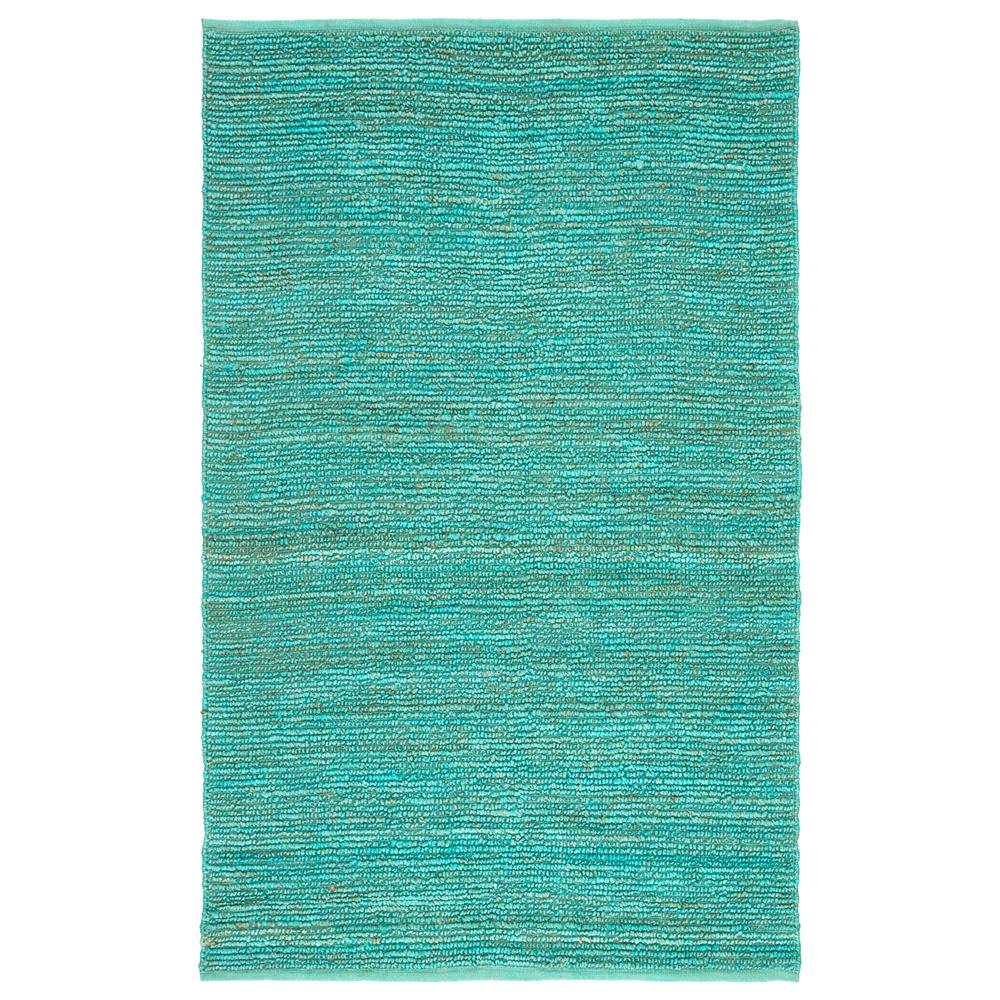 Jaipur Living CL02 Havana Natural Solid Turquoise Area Rug (2