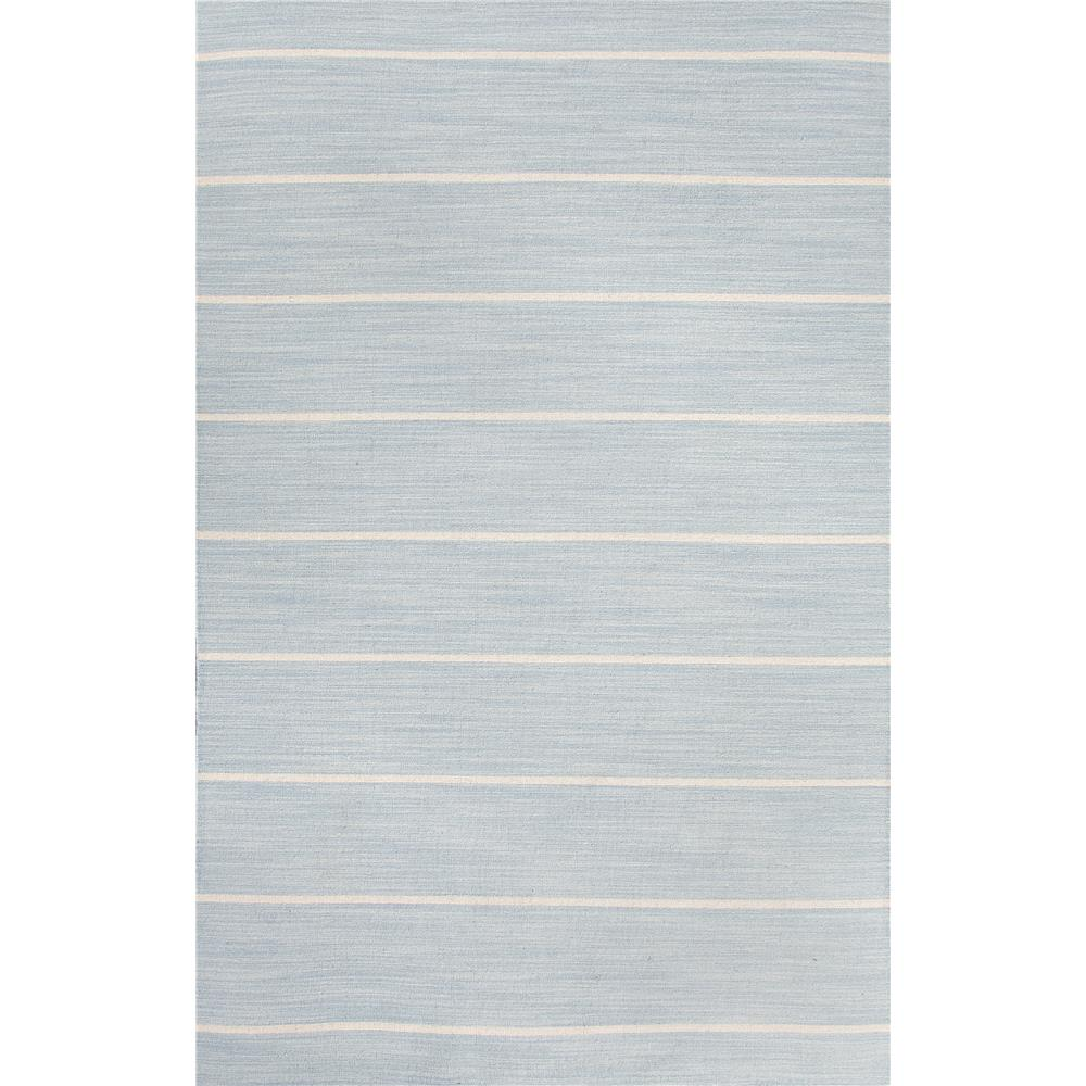 Jaipur Living COH16 Cape Cod Handmade Stripe Blue/ White Area Rug (9