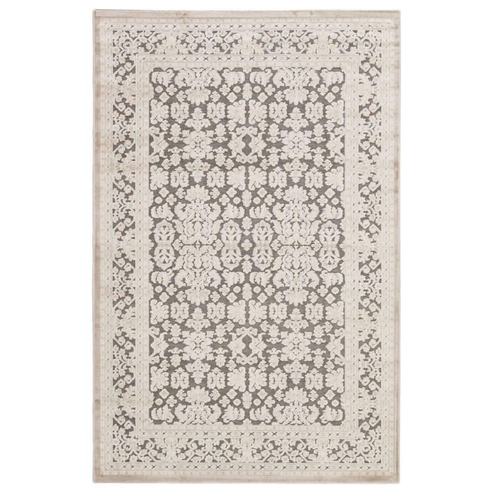Jaipur Living FB08 Regal Damask Gray/ White Area Rug (9