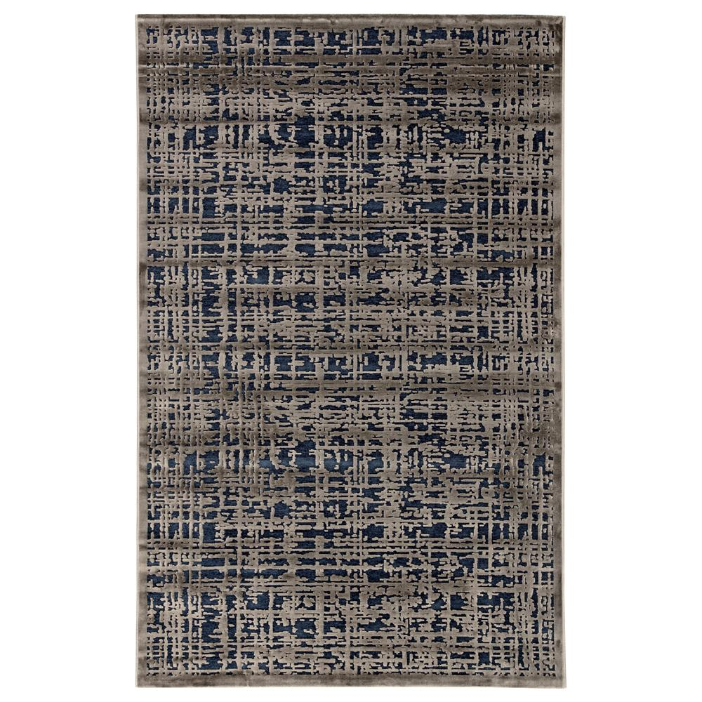 Jaipur Living FB108 Dreamy Abstract Gray/ Blue Area Rug (5