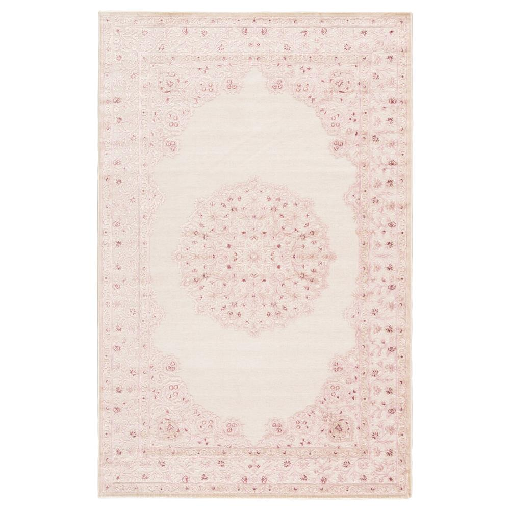 Jaipur Living FB123 Malo Medallion Pink/ White Area Rug (5