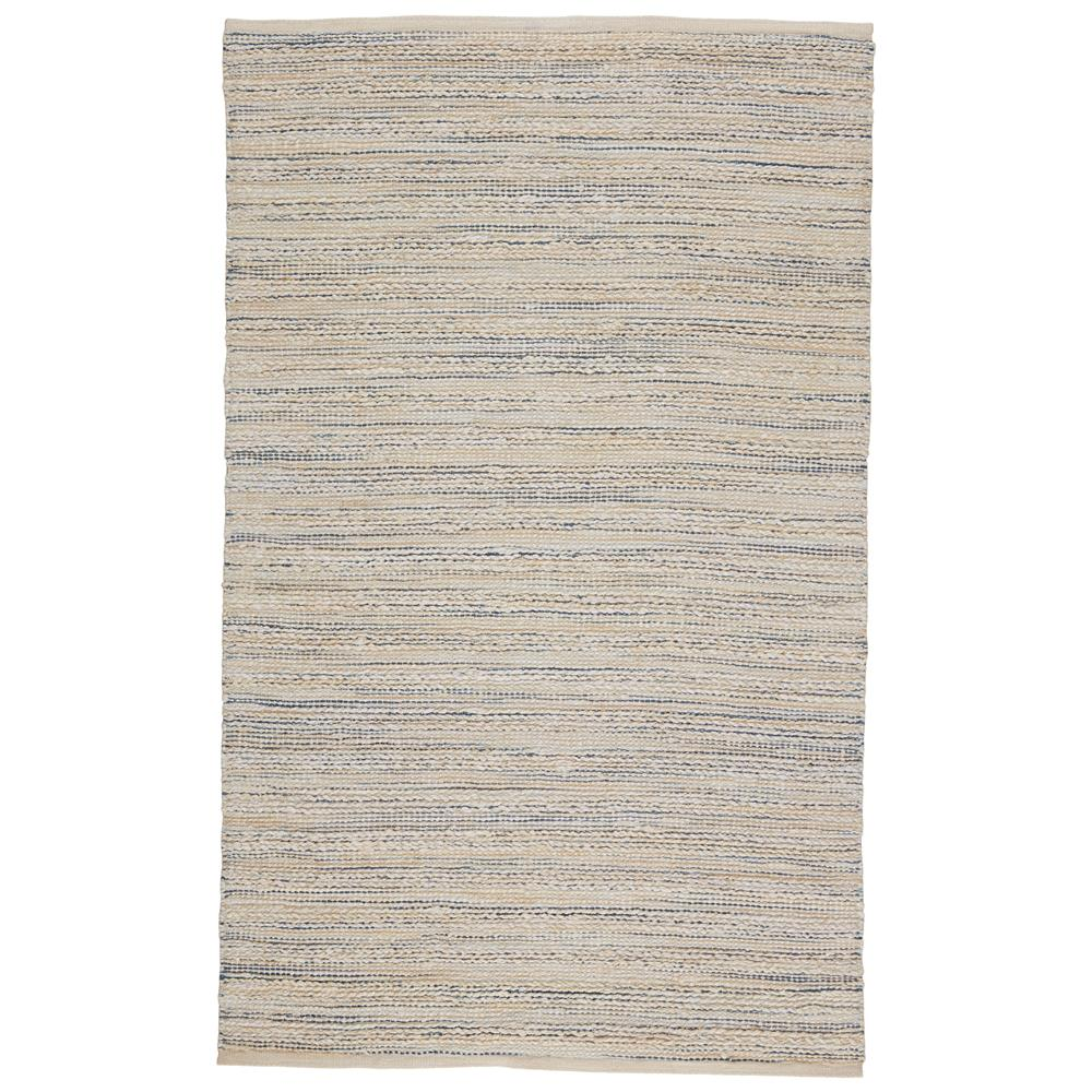 Jaipur Living HM25 Canterbury Natural Stripe White/ Blue Area Rug (5