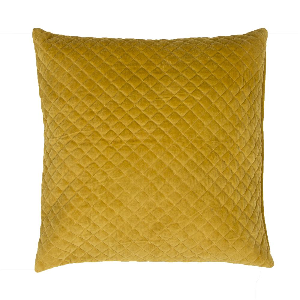 "Jaipur Living PLC101282 Lavish Pillows 22"" x22"" Pillow in Yellow & Gold"