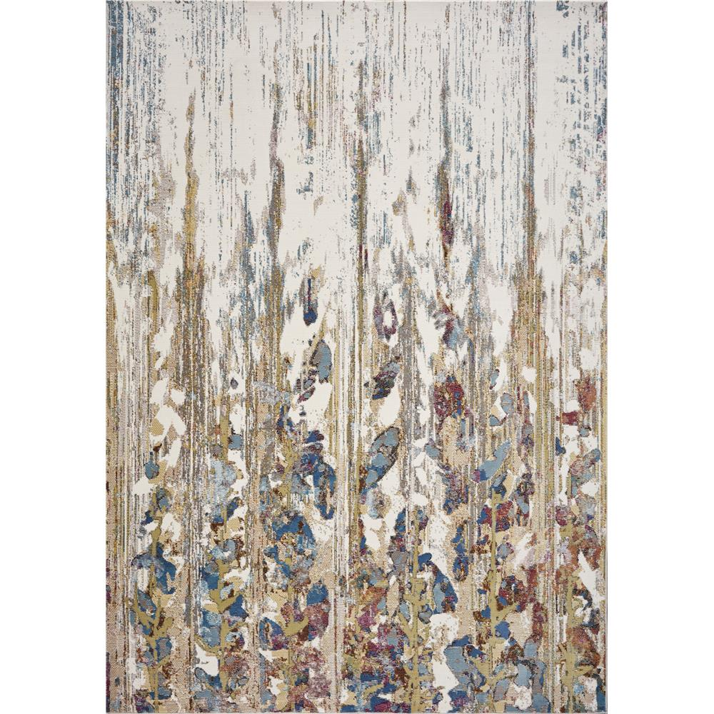 KAS 6105 Arte 7 Ft. 3 In. X 8 Ft. 11 In. Rectangle Rug in Ivory