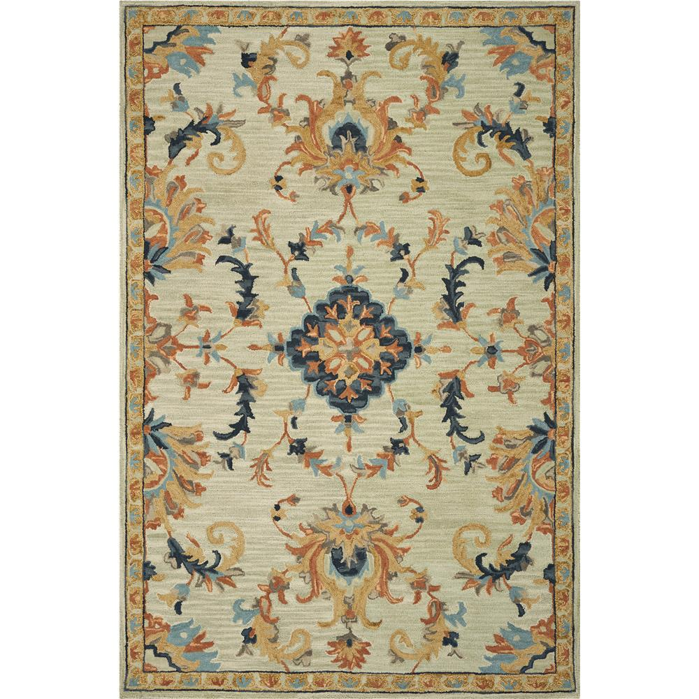 KAS BRO2951 Brooklyn 2 Ft. 3 In. X 8 Ft. Runner Rug in Mint