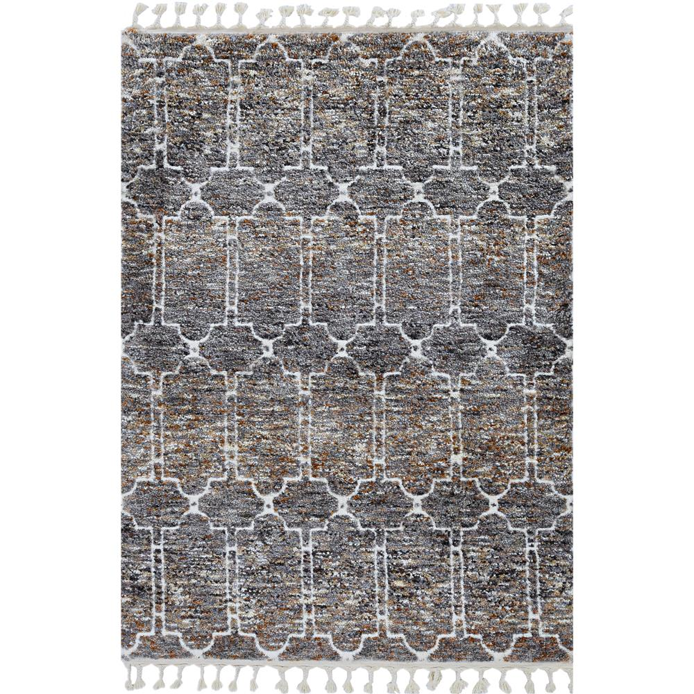 KAS 2302 Bungalow 2 Ft. 2 In. X 7 Ft. 6 In. Runner Rug in Mocha