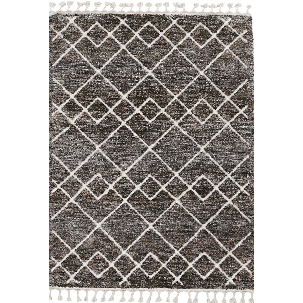 KAS 2304 Bungalow 2 Ft. 2 In. X 7 Ft. 6 In. Runner Rug in Mocha