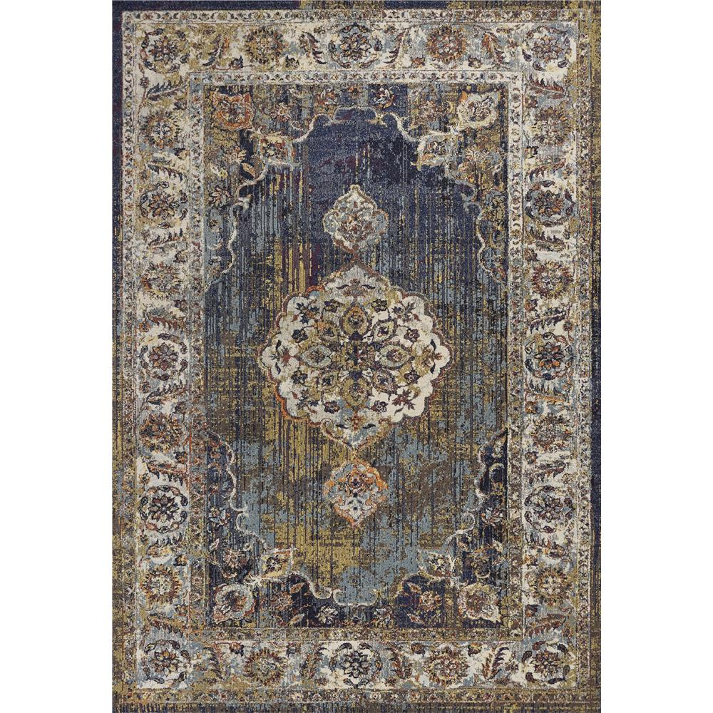KAS 7853 Corsica 3 Ft. 3 In. X 4 Ft. 11 In. Rectangle Rug in Navy