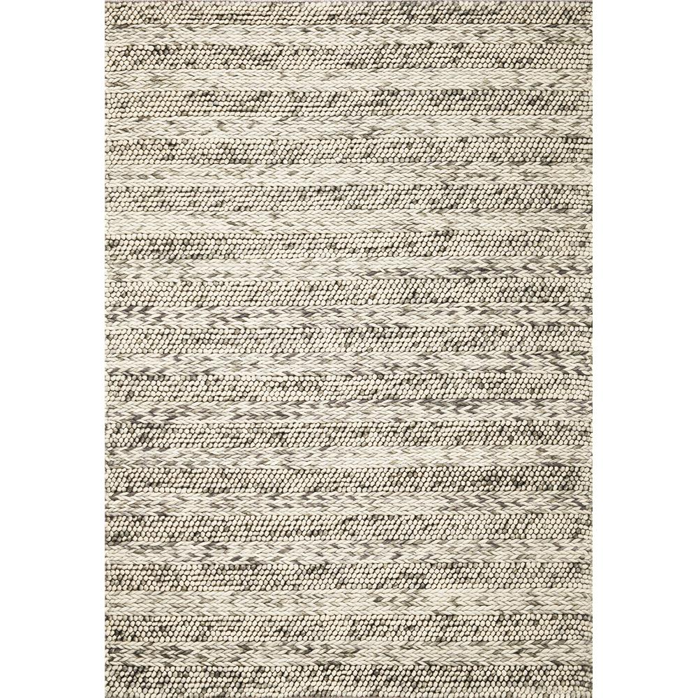 KAS 6152 Cortico 3 Ft. 3 In. X 5 Ft. 3 In. Rectangle Rug in Grey