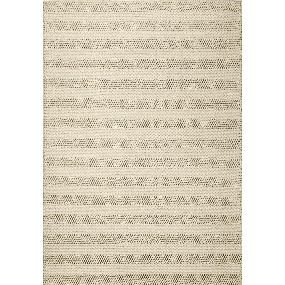 KAS 6155 Cortico 3 Ft. 3 In. X 5 Ft. 3 In. Rectangle Rug in White