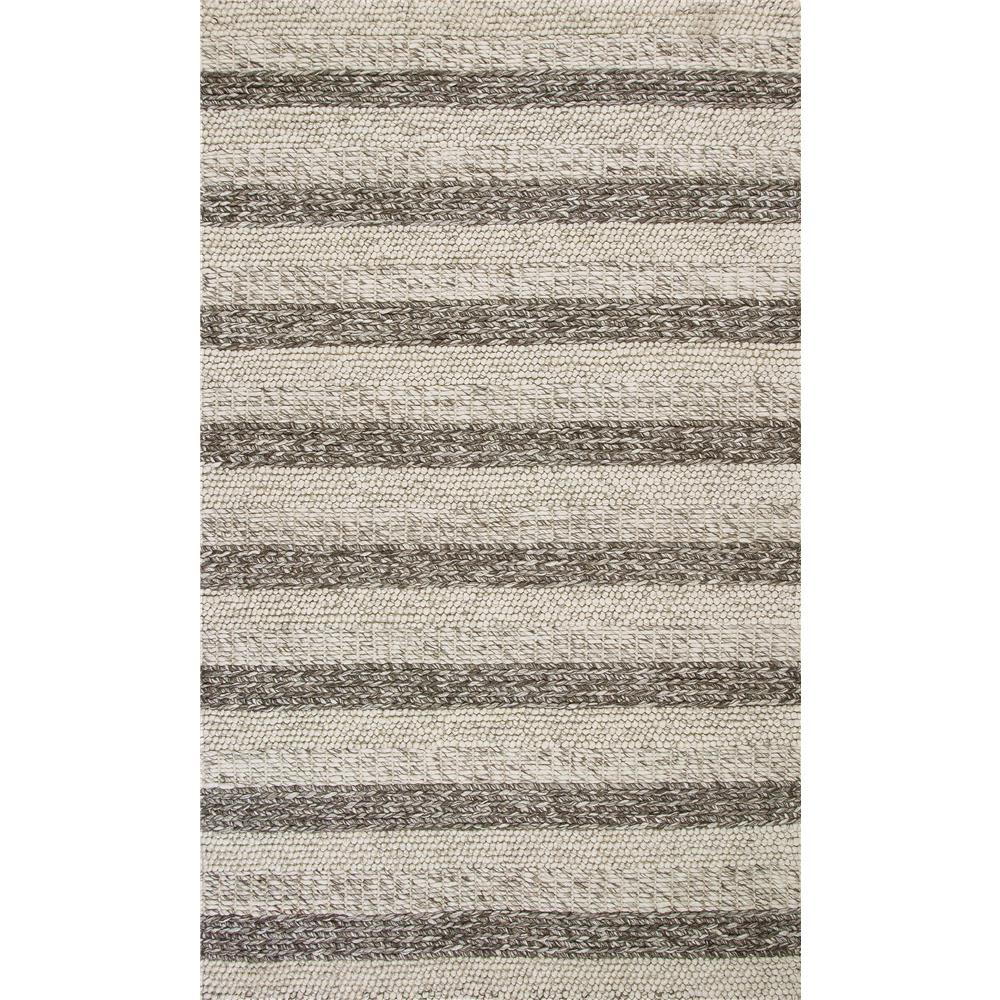 KAS 6158 Cortico 3 Ft. 3 In. X 5 Ft. 3 In. Rectangle Rug in Gray/White