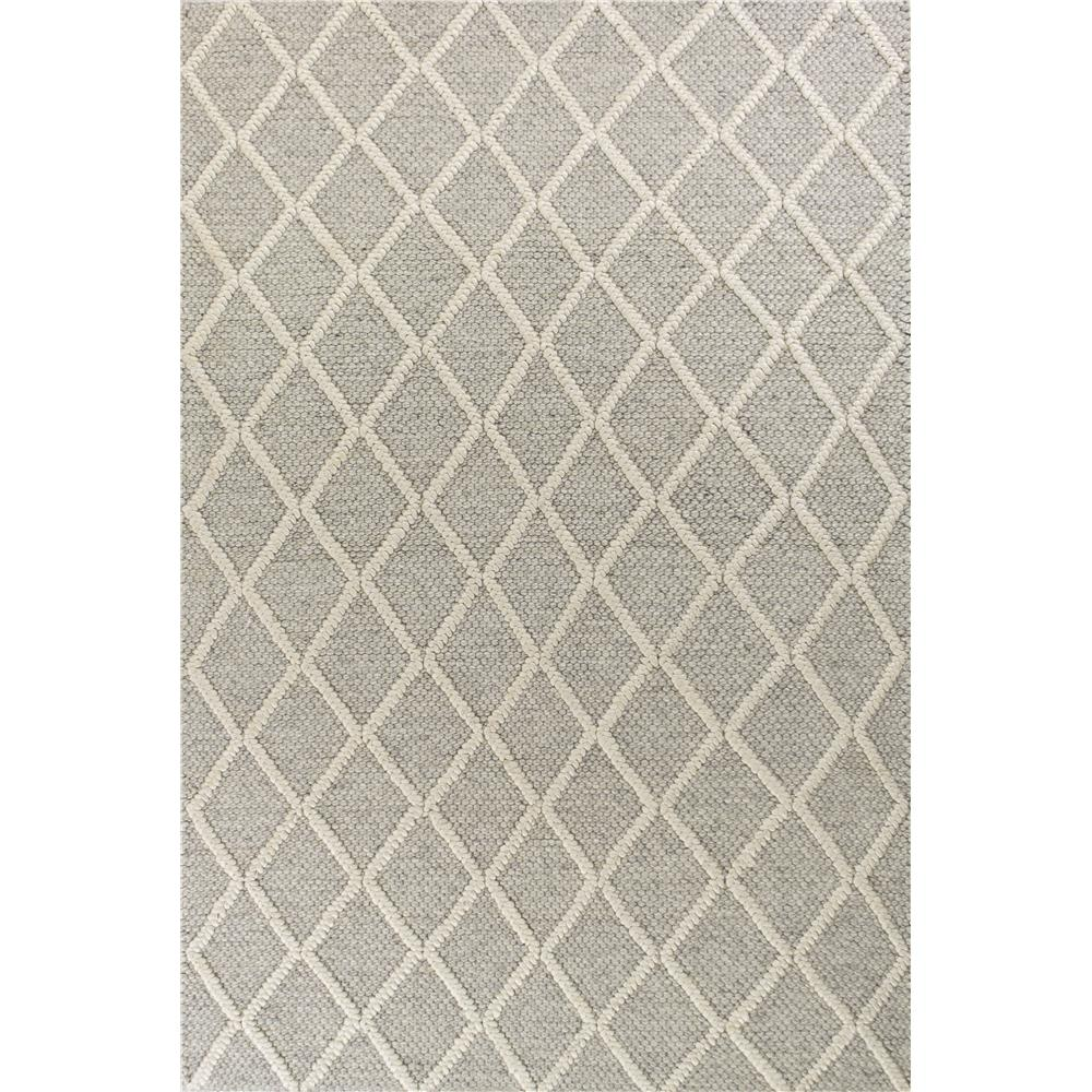 KAS 6161 Cortico 3 Ft. 3 In. X 5 Ft. 3 In. Rectangle Rug in Grey