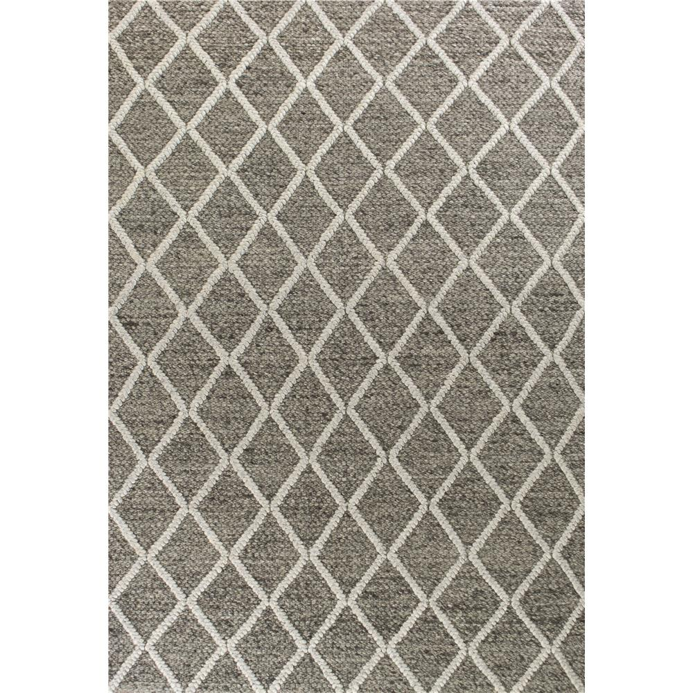 KAS 6162 Cortico 3 Ft. 3 In. X 5 Ft. 3 In. Rectangle Rug in Dark Grey