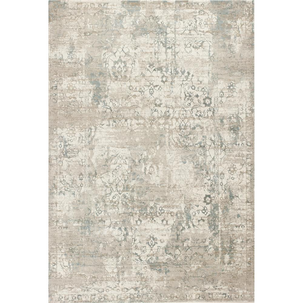 KAS CRE6507 Crete 2 Ft. 2 In. X 6 Ft. 11 In. Runner Rug in Ivory