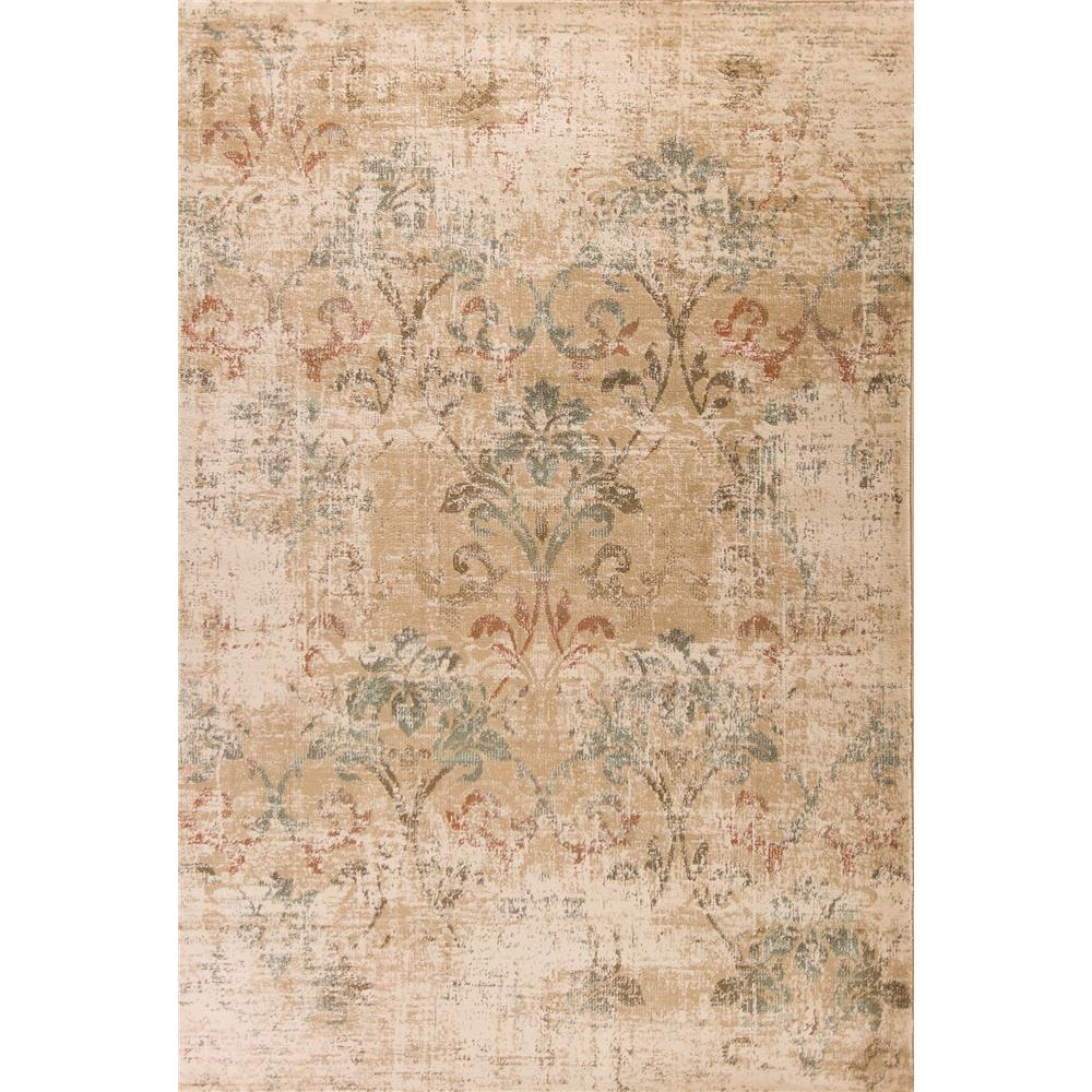 KAS HER9351 Heritage 2 Ft. 2 In. X 7 Ft. 11 In. Runner Rug in Champagne