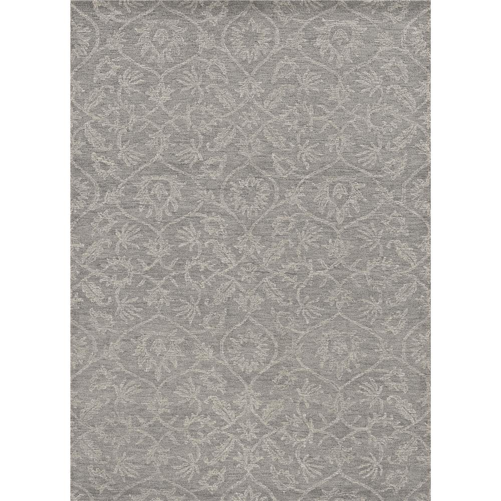 KAS 2462 Hudson 2 Ft. 3 In. X 8 Ft. Runner Rug in Grey
