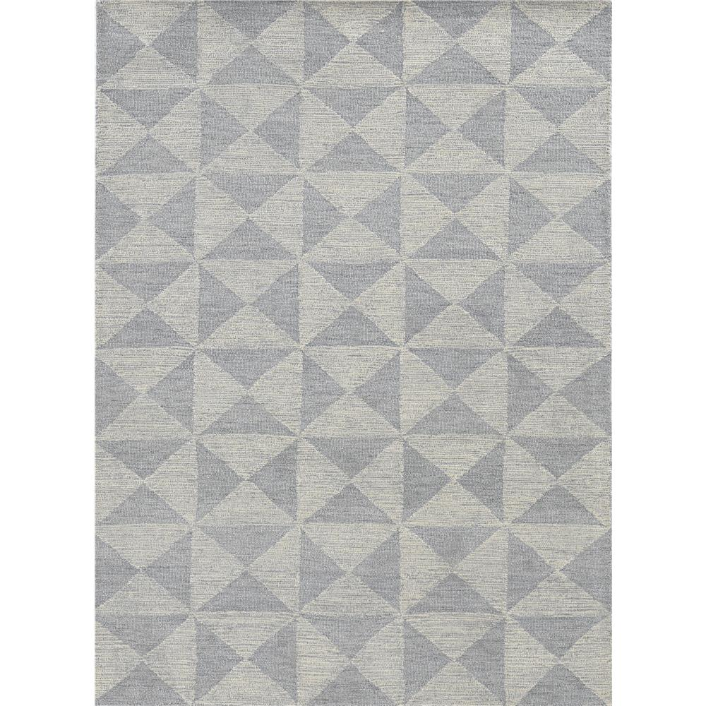 KAS 2464 Hudson 2 Ft. 3 In. X 8 Ft. Runner Rug in Ivory