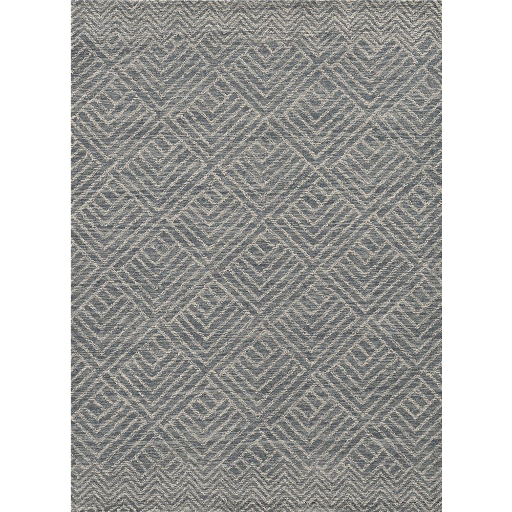 KAS 2465 Hudson 2 Ft. 3 In. X 8 Ft. Runner Rug in Denim