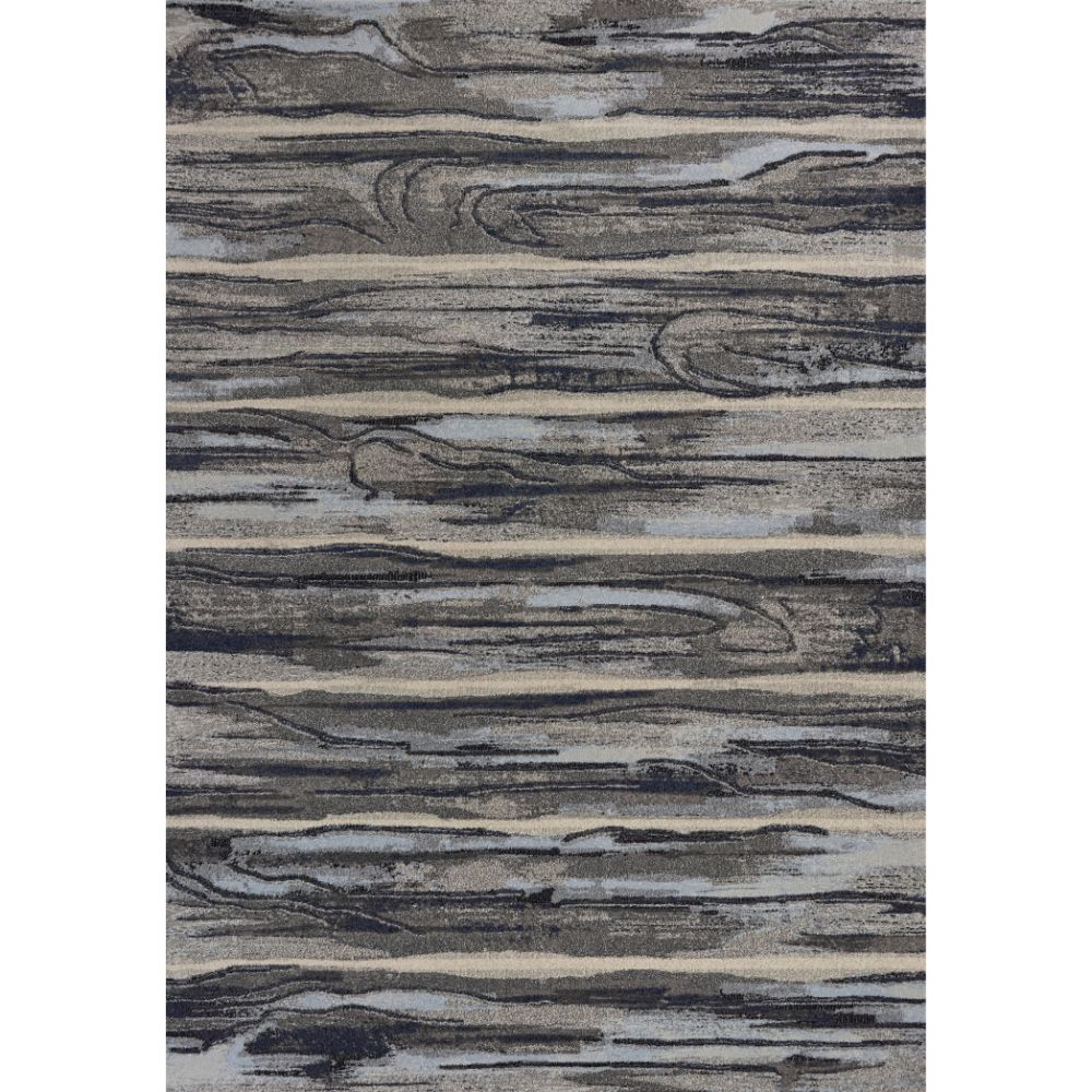 KAS 6210 Illusions 3 Ft. 3 In. X 4 Ft. 11 In. Rectangle Rug in Grey
