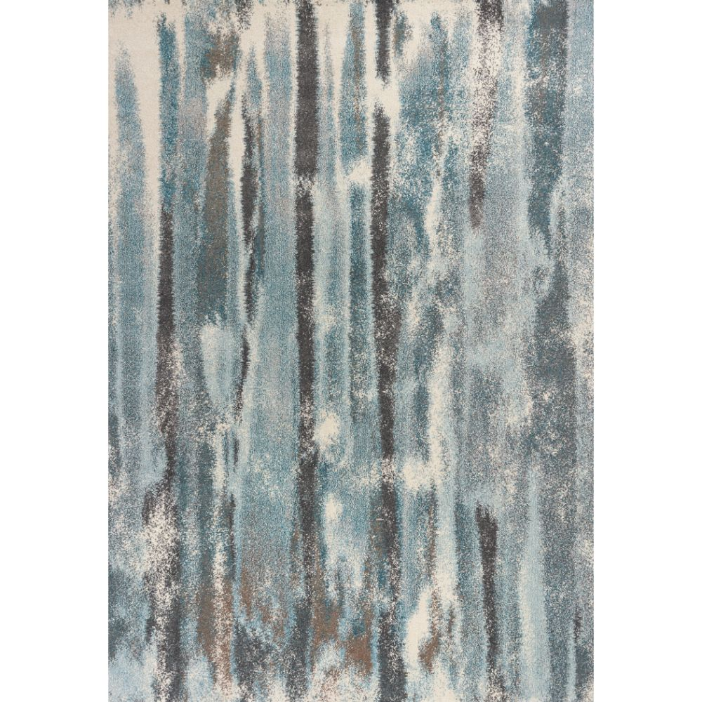 KAS 6211 Illusions 3 Ft. 3 In. X 4 Ft. 11 In. Rectangle Rug in Teal