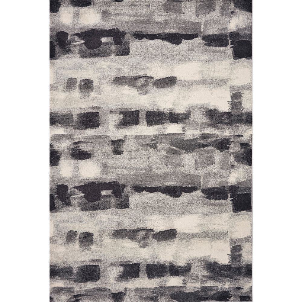KAS 6214 Illusions 3 Ft. 3 In. X 4 Ft. 11 In. Rectangle Rug in Grey