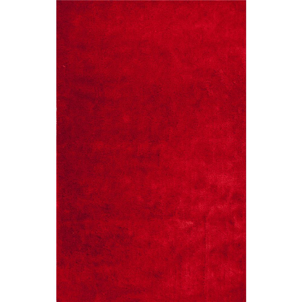 KAS KEY0609 Key West 5 Ft. X 7 Ft. Rectangle Rug in Red