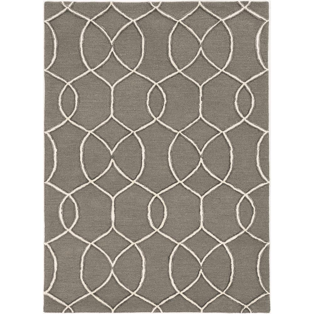 KAS 4303 Libby Langdon Upton 12 Ft. X 15 Ft. Rectangle Rug in Charcoal