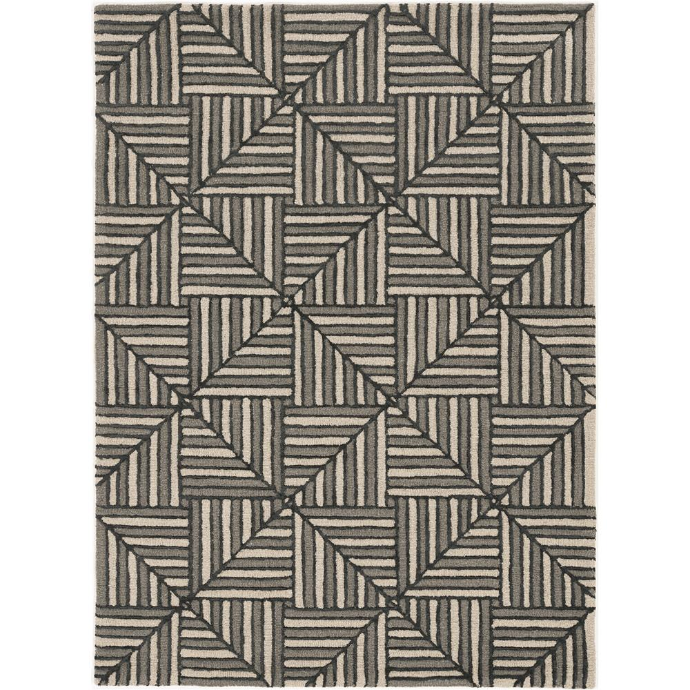 KAS 4304 Libby Langdon Upton 12 Ft. X 15 Ft. Rectangle Rug in Navy/Charcoal