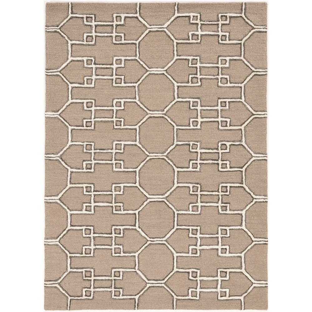 KAS 4305 Libby Langdon Upton 12 Ft. X 15 Ft. Rectangle Rug in Mocha