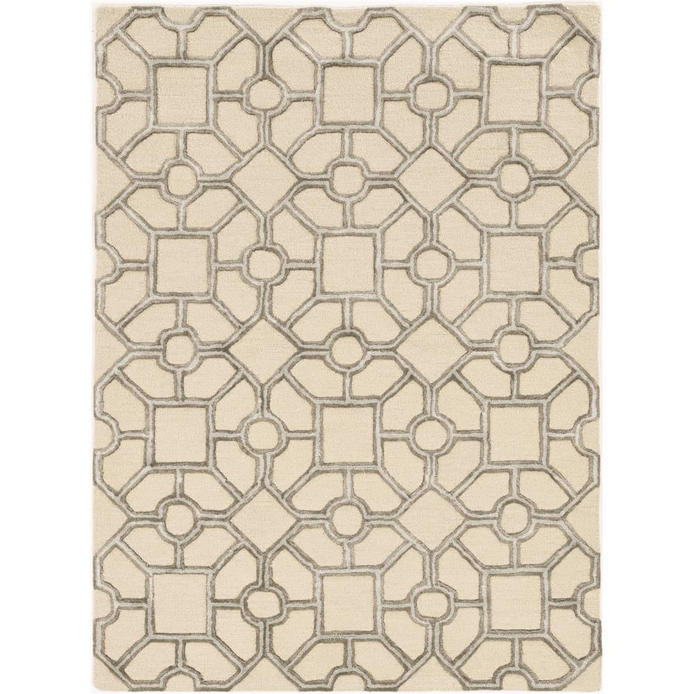 KAS 4306 Libby Langdon Upton 12 Ft. X 15 Ft. Rectangle Rug in Beige