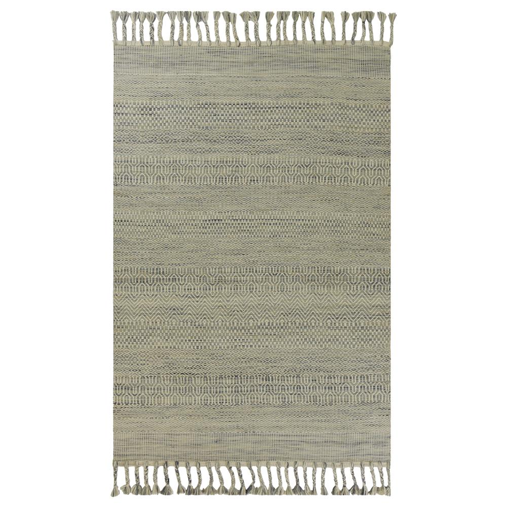 KAS 5566 Libby Langdon Homespun 5 Ft. X 8 Ft. Rectangle Rug in Oatmeal